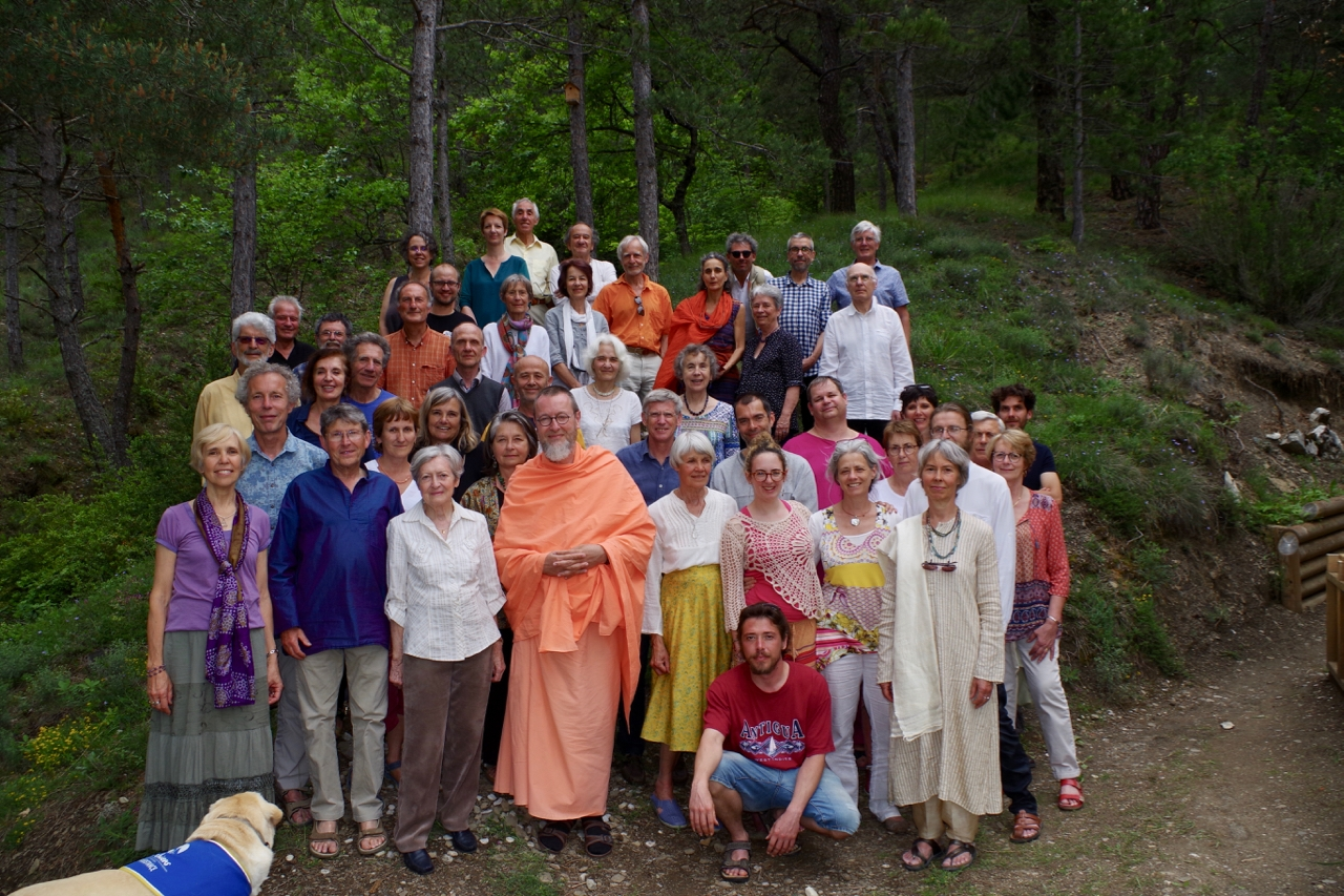 Retraite Sangha mai 2018