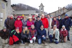 Pèlerinage La Verna déc. 2017