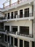 vue du nouveau bâtiment en cours de travaux