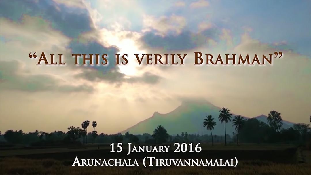 Tout ceci est en vérité Brahman