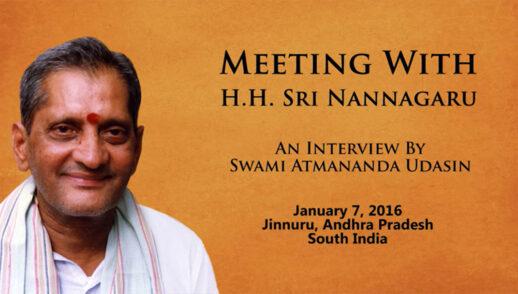 Rencontre avec Sri Nannagaru : une interview par Swami Atmananda Udasin
