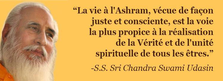 Message de S.S. Sri Chandra Swami Udasin (5 novembre 2006)