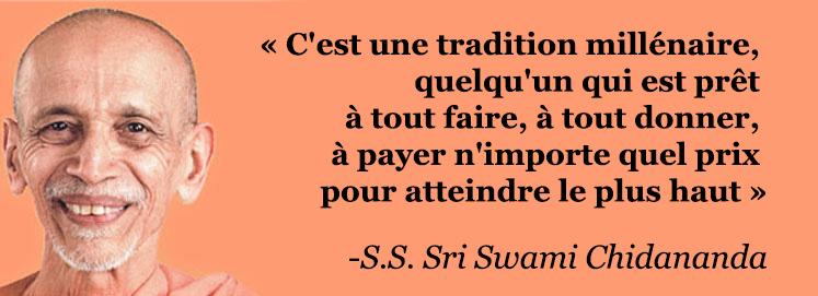 S.S. Sri Swami Chidananda Saraswati