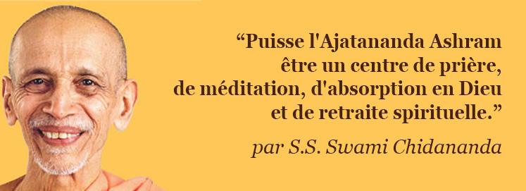 Message de S.S. Sri Swami Chidananda Saraswati (5 novembre 2006)
